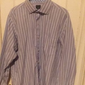 Men's Tailor Byrd Collection dress shirt size XL
